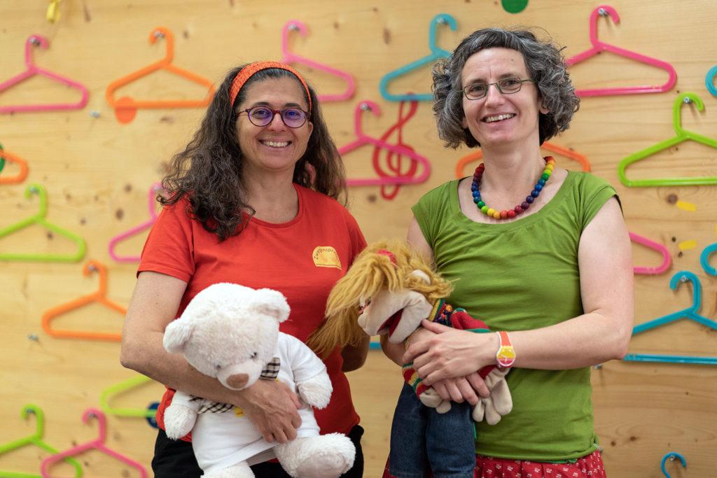 Karin und Gudrun im Musivana